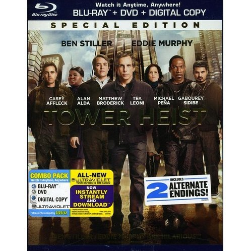 Tower Heist [Blu-ray + DVD + UltraViolet Digital Copy]