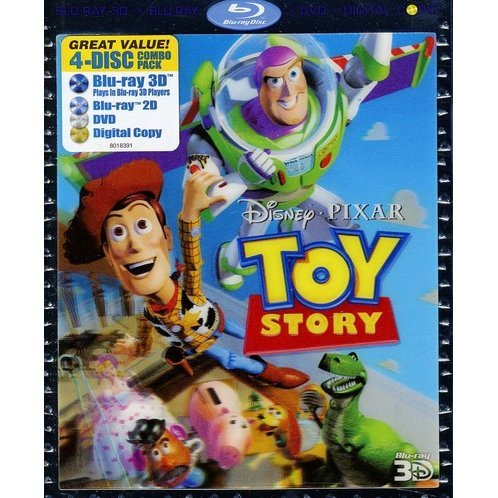 Toy Story 2 3D [Blu-ray 3D + Blu-ray + DVD + Digital Copy]