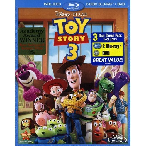 Toy Story 3 [Blu-ray + DVD Combo Pack]