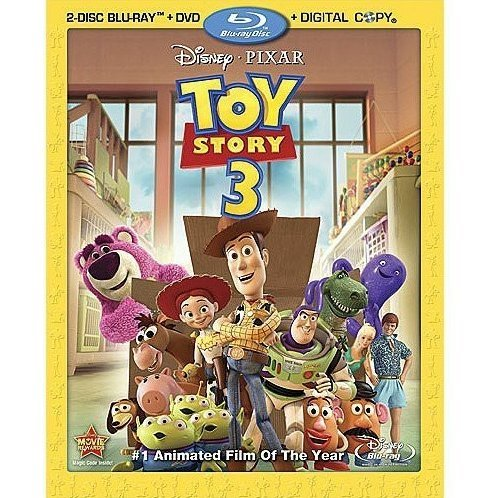 Toy Story 3 [Blu-ray + DVD + Digital Copy]