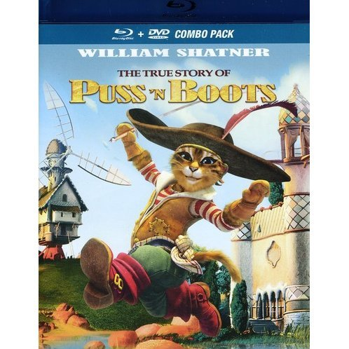True Story of Puss'N Boots [Blu-ray + DVD Combo Pack]