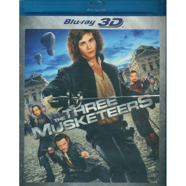 The Three Musketeers 3D [Blu-ray 3D + Blu-ray]