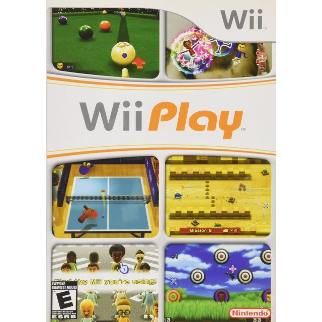 Wii Play: (Game Only)