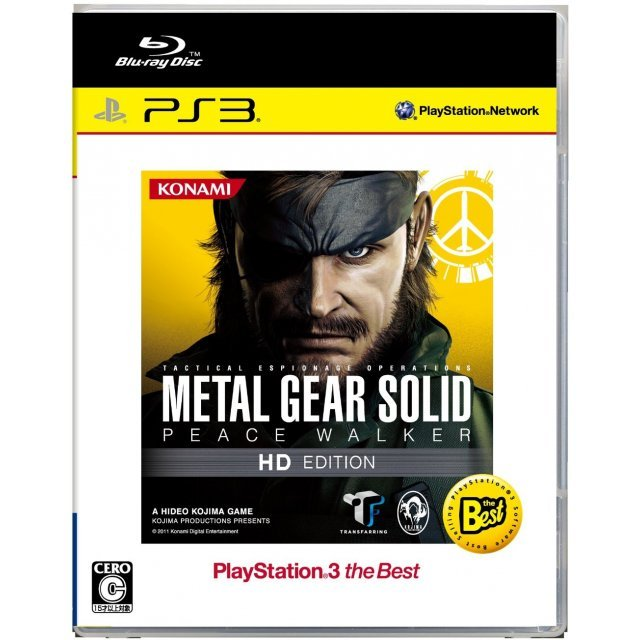 Metal Gear Solid: Peace Walker HD Edition (PlayStation3 the Best Version)