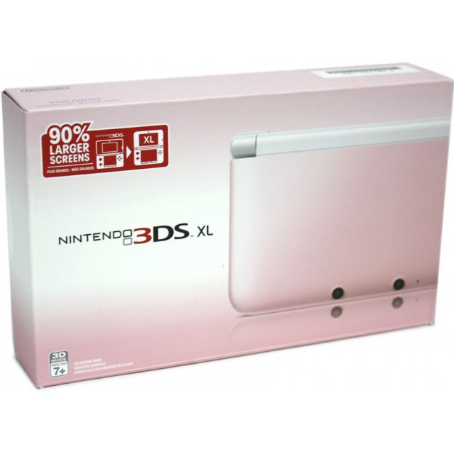 Nintendo 3DS XL (Pink x White)