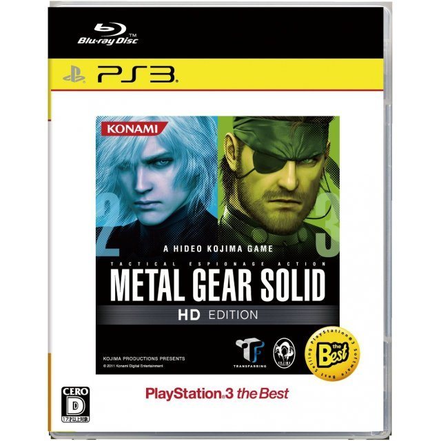Metal Gear Solid HD Edition (PlayStation3 the Best Version)