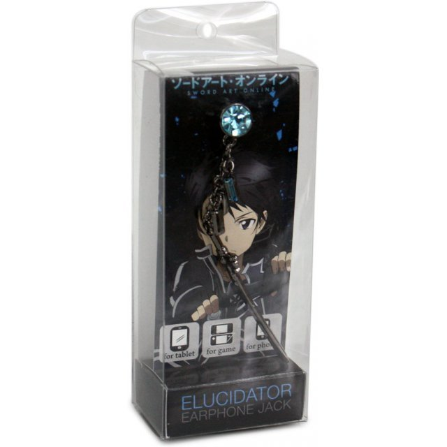 Earphone Jack Sword Art Online Elysidate: Kirito Ver.