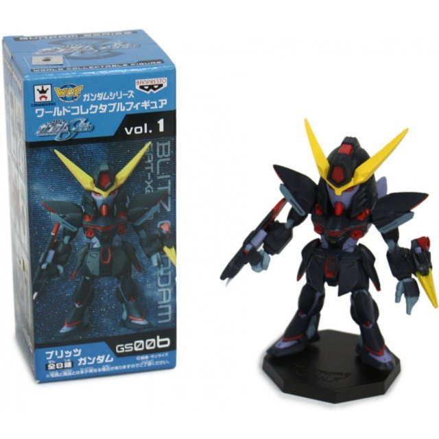 Gundam SEED World Collectable Pre-Painted PVC Figure Vol.1: GAT-X207 Blitz