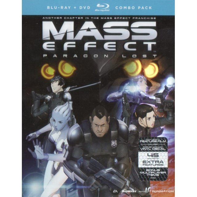Mass Effect: Paragon Lost [Blu-ray+DVD]