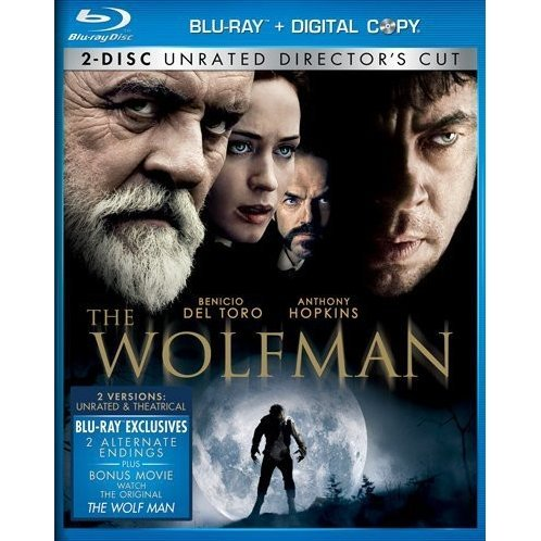 The Wolfman (Two-Disc Unrated Director's Cut) [Blu-ray+Digital Copy]