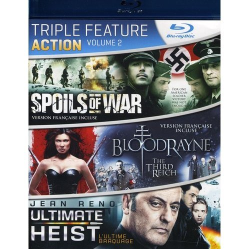 Action Triple Feature Vol. 2