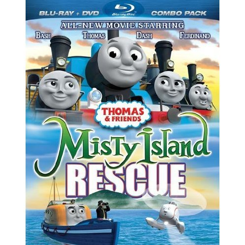 Thomas & Friends Misty Island Rescue Movie [Blu-ray+DVD]