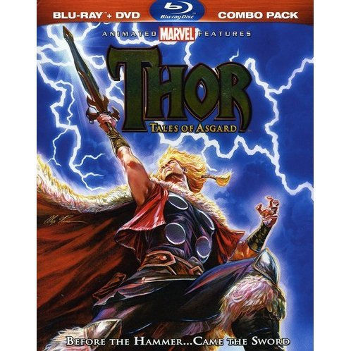 Thor: Tales Of Asgard [Blu-ray+DVD]