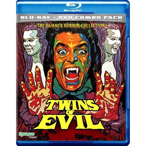 Twins of Evil [Blu-ray + DVD Combo Pack]