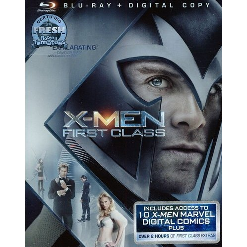 X-Men: First Class [Blu-ray+Digital Copy]