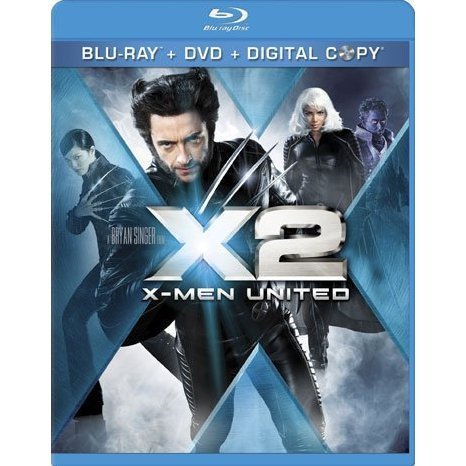 X2: X-Men United [Blu-ray+DVD+Digital Copy]