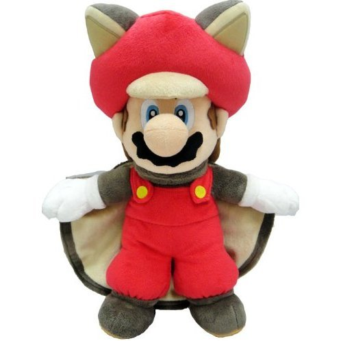 Super Mario Bros. U: Flying Squirrel Mario Plush