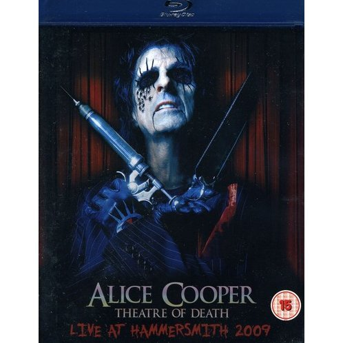 Alice Cooper: Theatre of Death [Blu-ray + CD Combo Pack]