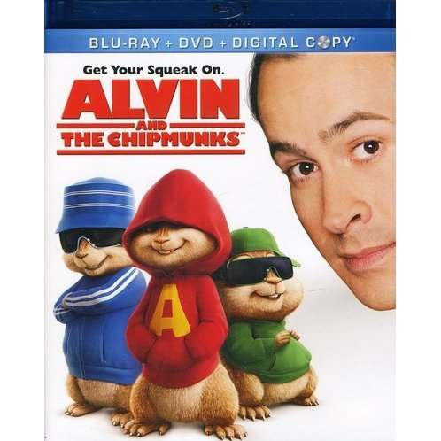 Alvin and the Chipmunks [Blu-ray + DVD + Digital Copy]