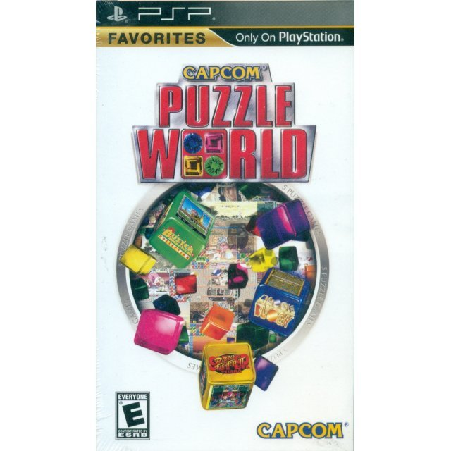 Capcom Puzzle World (Favorites)