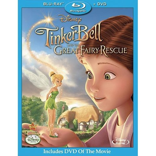 Tinker Bell And The Great Fairy Rescue [Blu-ray+DVD]