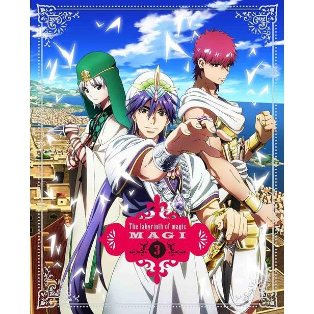 Magi The Labyrinth Of Magic 3 [Blu-ray+CD Limited Edition]