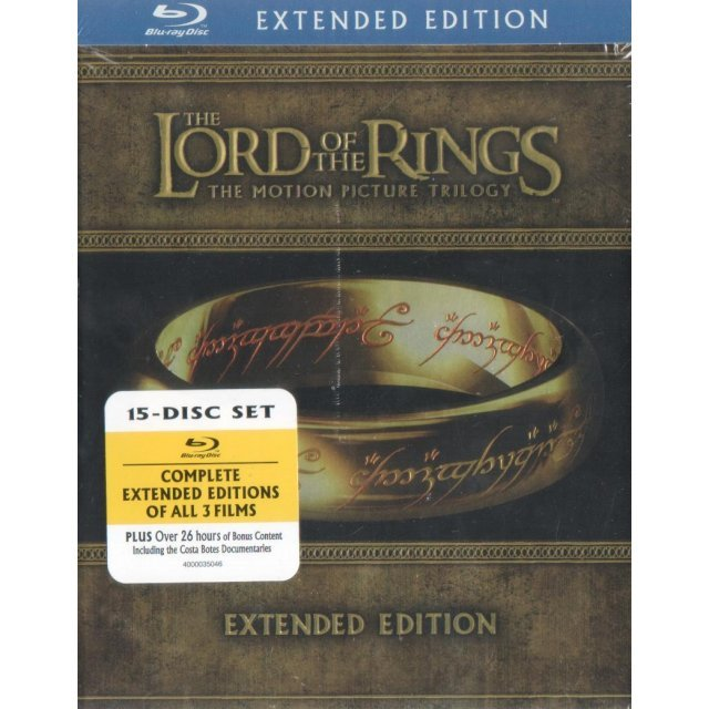 The Lord of the Rings: The Motion Picture Trilogy [Extended Edition]