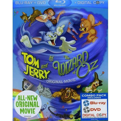 Tom And Jerry & The Wizard Of Oz [Blu-ray+DVD+Digital Copy]