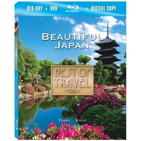 Best of Travel: Beautiful Japan [Blu-ray + DVD + Digital Copy]
