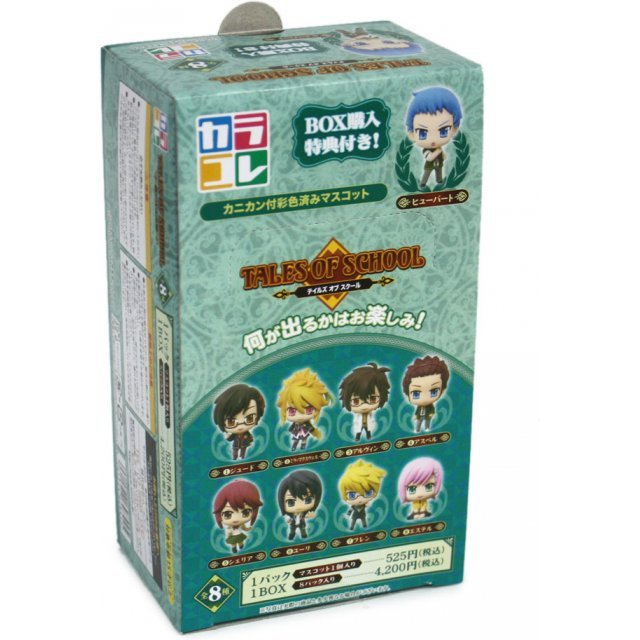 Color Collection B Tales of School Non Scale Pre-Painted Trading Figure (Radom One Piece)