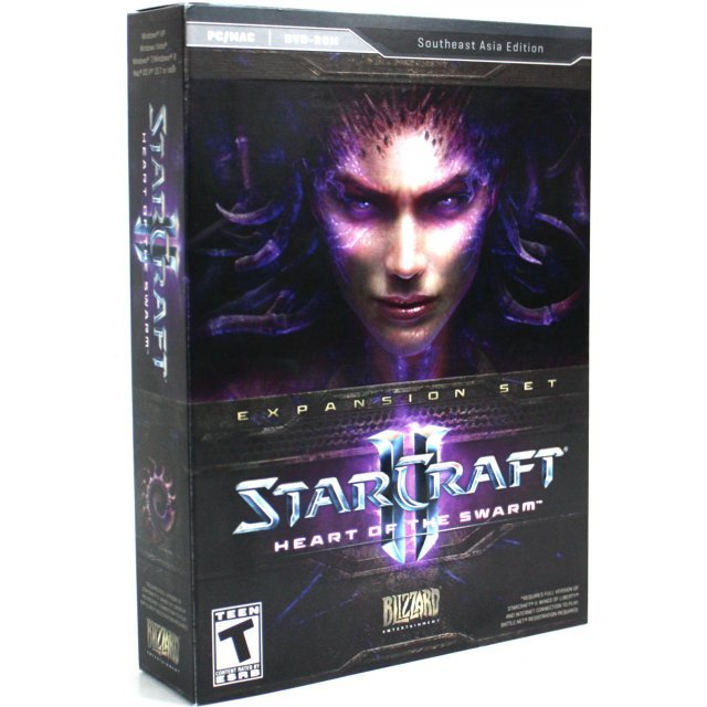 Starcraft II: Heart of the Swarm (Southeast Asia Edition) (DVD-ROM)