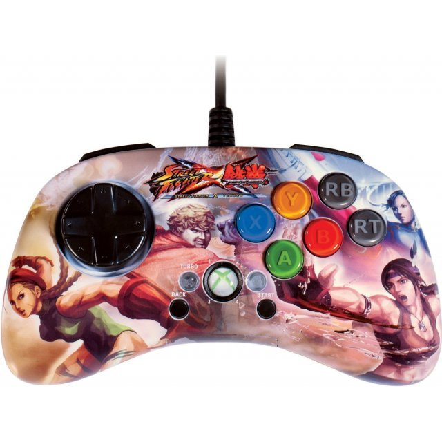 Street Fighter x Tekken FightPad SD (Chun-Li & Cammy V.S. Julia & Bob)