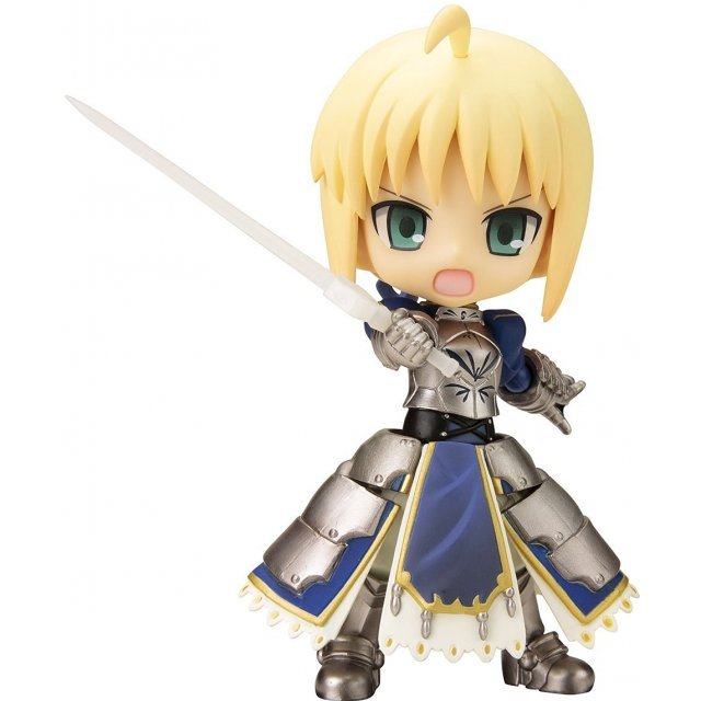 Fate/stay Night Cu-poche Non Scale Pre-Painted PVC Figure: Saber