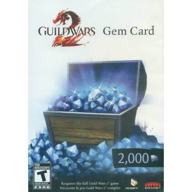 Guild Wars 2 Gem Card (2000 Gems)