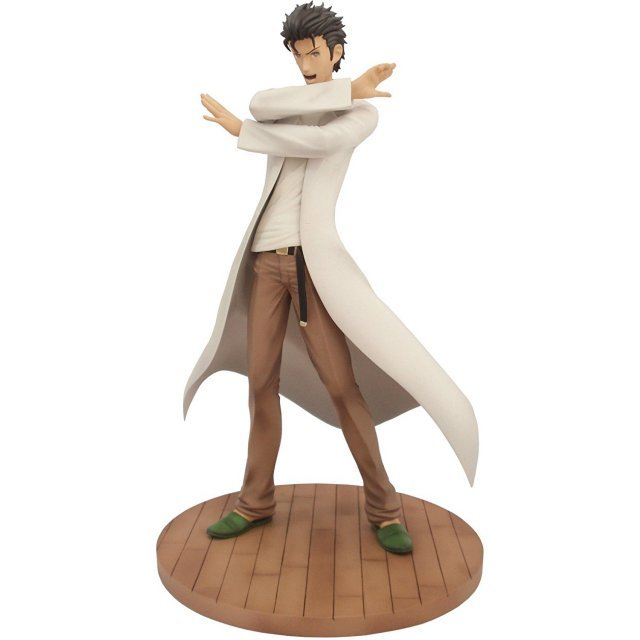 Steins Gate 1/8 Scale Pre-Painted PVC Figure: Okabe Rintaro (Re-run)