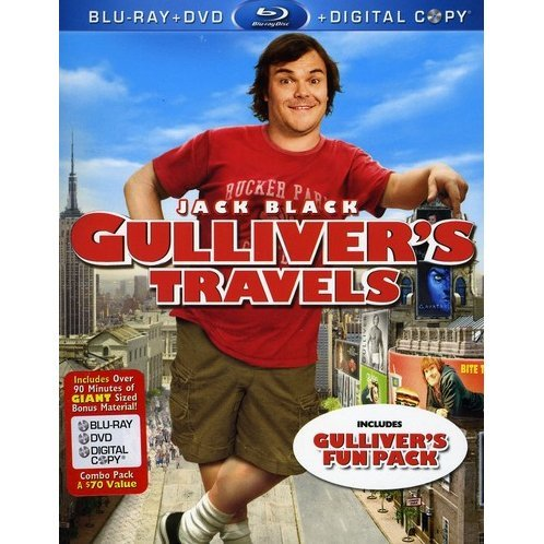 Gulliver's Travels [Blu-ray+DVD+Digital Copy]