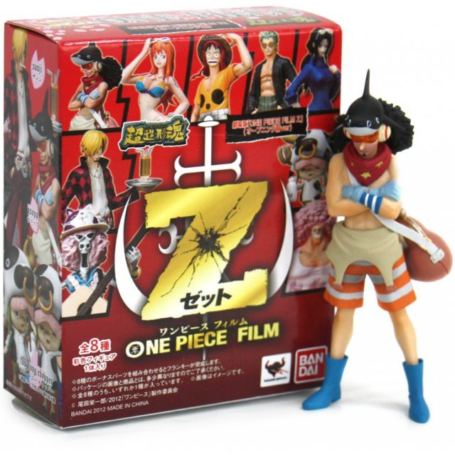 One Piece Super Modeling Soul Trading Figure: Film Z