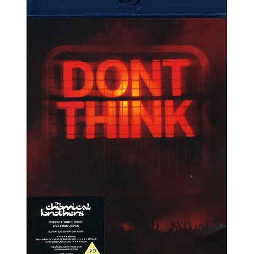 The Chemical Brothers: Don't Think - Live From Japan [Blu-ray+CD]