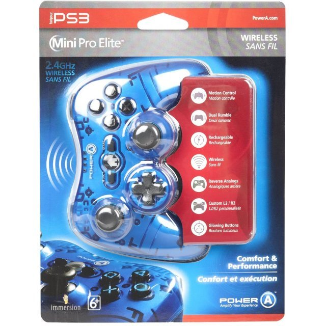 Mini Pro Elite Wireless for PS3 (Blue)