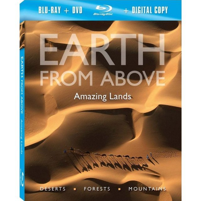 Earth From Above: Amazing Lands [Blu-ray + Digital Copy]