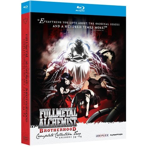 Fullmetal Alchemist Brotherhood:Complete Collection Two