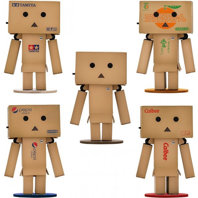 Yotsuba&! Revoltech Danboard Mini Company Collaboration Project