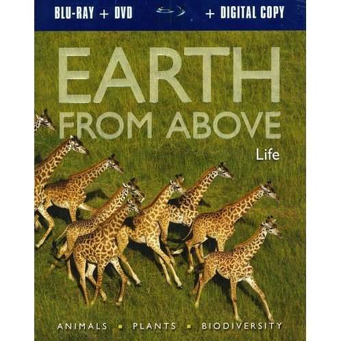 Earth From Above: Life [Blu-ray + DVD + Digital Copy]