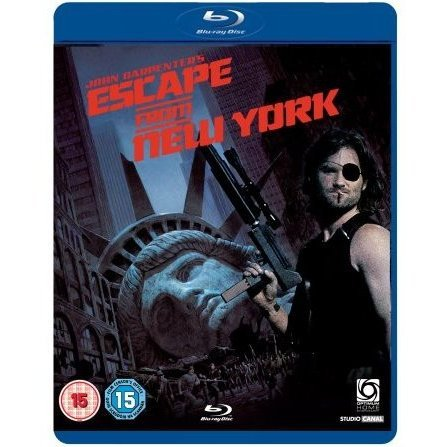 Escape from New York [Blu-ray + DVD Combo Pack]