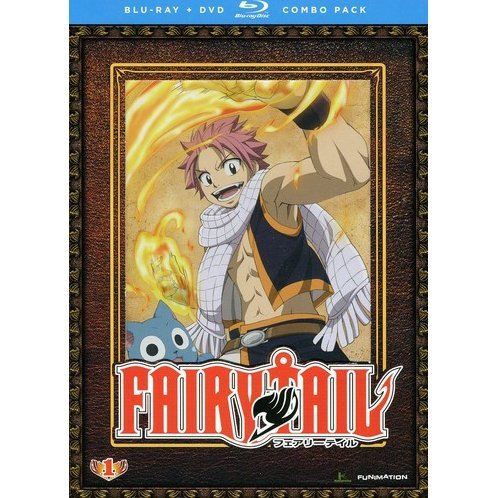 Fairy Tail: Part 1 [Blu-ray + DVD Combo Pack]