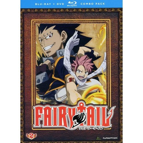 Fairy Tail: Part 2 [Blu-ray + DVD Combo Pack]
