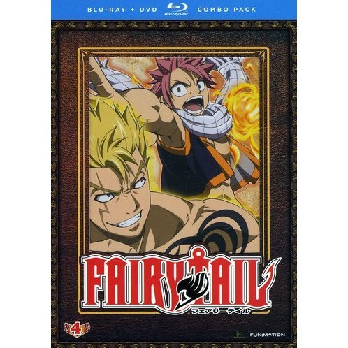 Fairy Tail: Part 4 [Blu-ray + DVD Combo Pack]