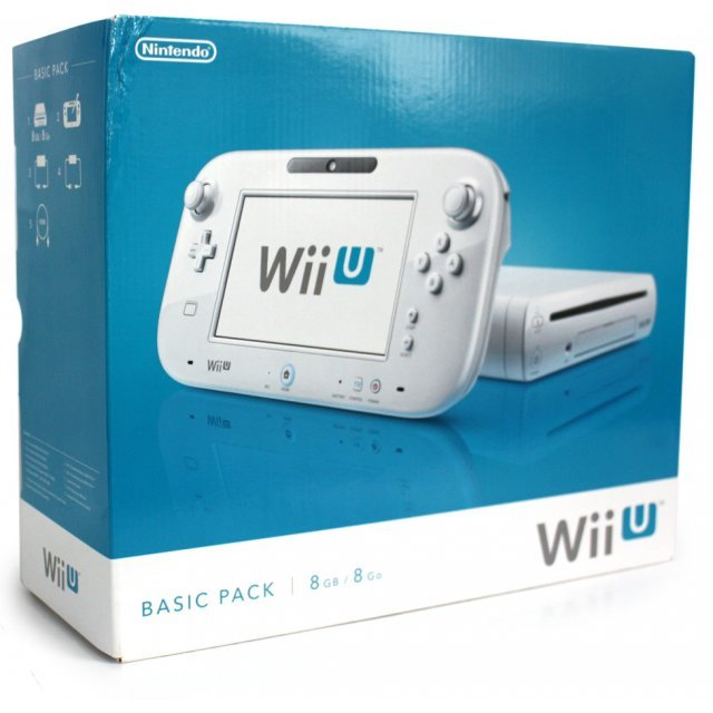 Nintendo Wii U Basic Pack 8GB (White)