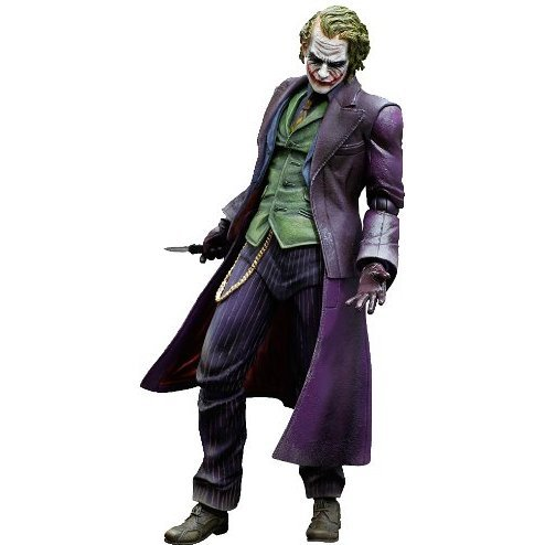 Play Arts Kai Batman The Dark Knight Trilogy Non Scale Pre-Painted Figure: Joker