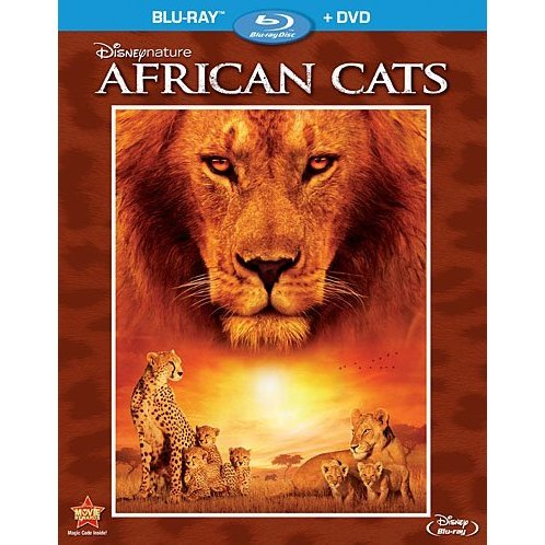 African Cats [Blu-ray+DVD]